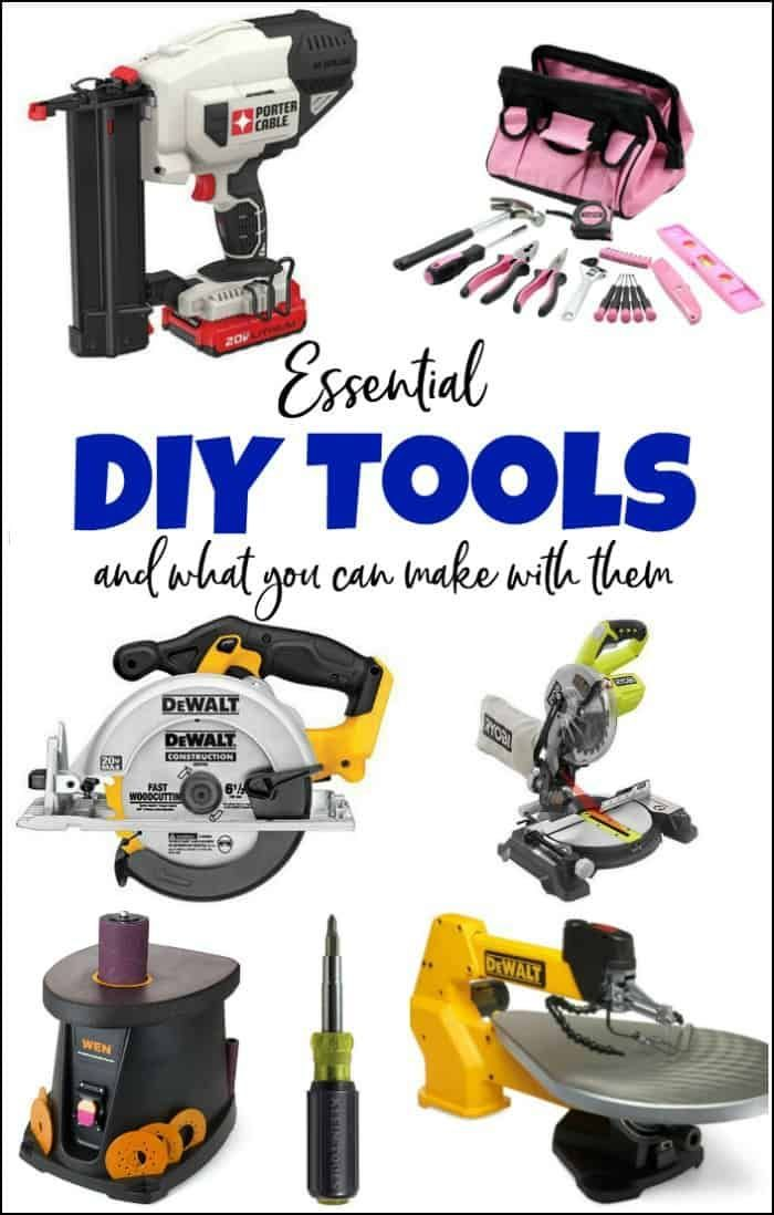 Diy Tools Can Be Fun And Necessary In Any Home Whether You Are A Beginner Looking For Household Tool Kit Or Ready Woodworking Plans How To Make