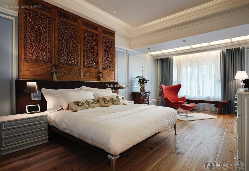 Neo-classical design bedroom decoration effect chart appreciation 2015