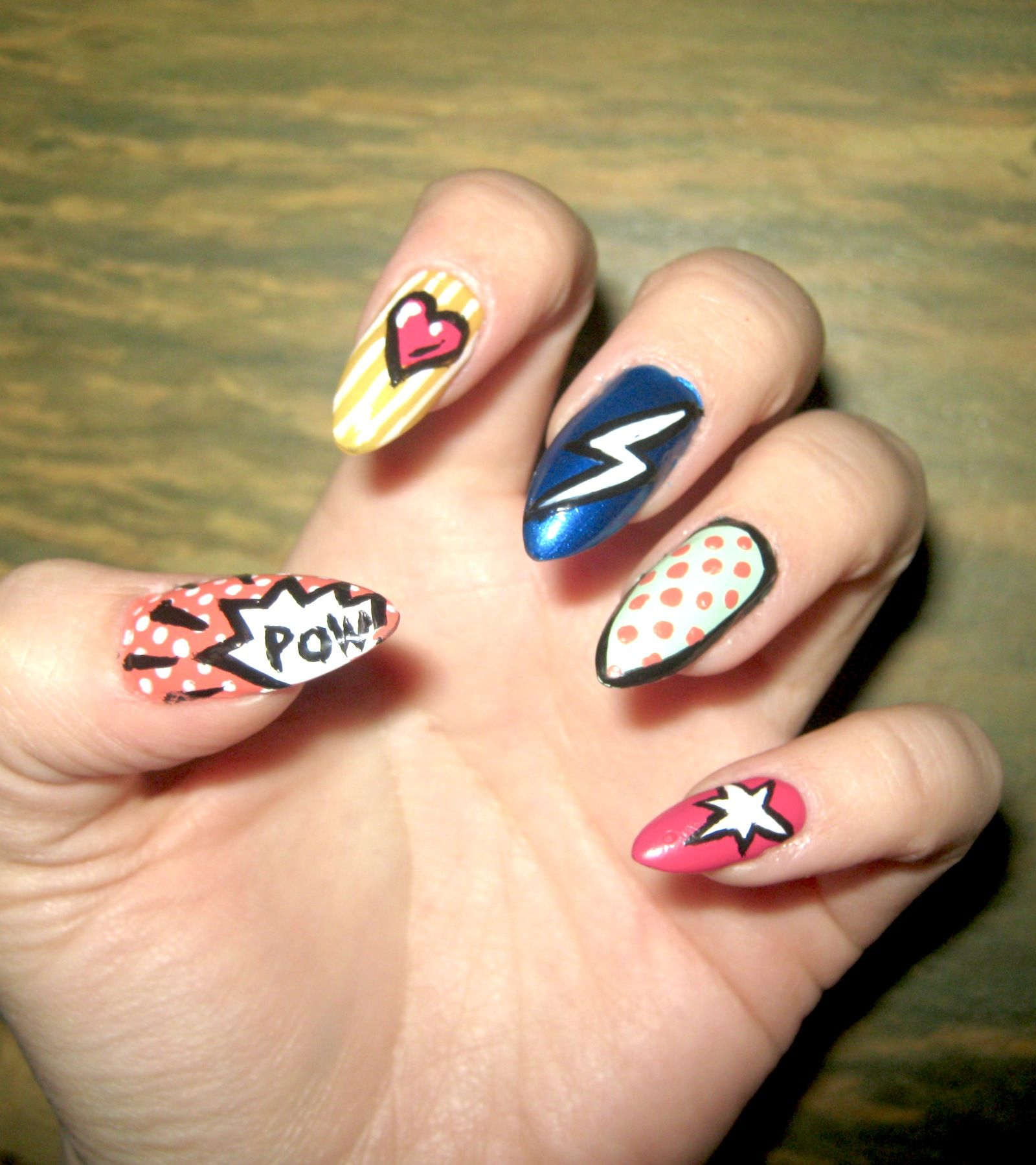 Stiletto Nails First Timers Paper Animation Cute Nails