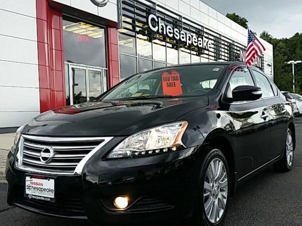 Used 2015 Nissan Sentra for Sale in Chesapeake, VA