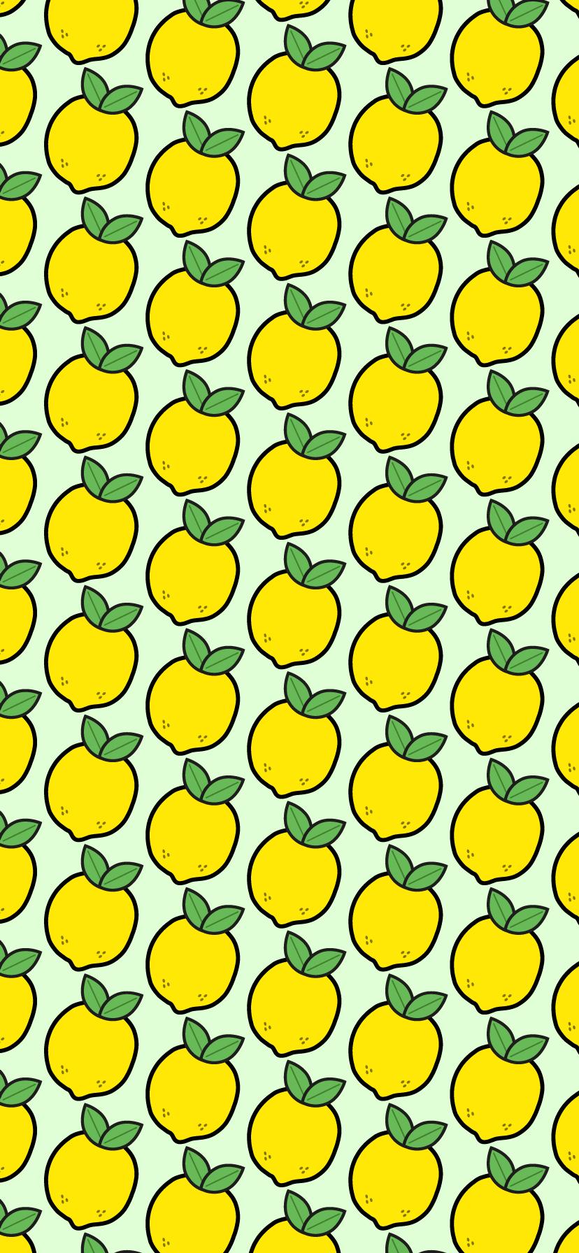 Green Lemon Background Wallpaper For Iphone Xr Lemon Background Iphone Wallpaper Yellow Iphone Wallpaper Pattern