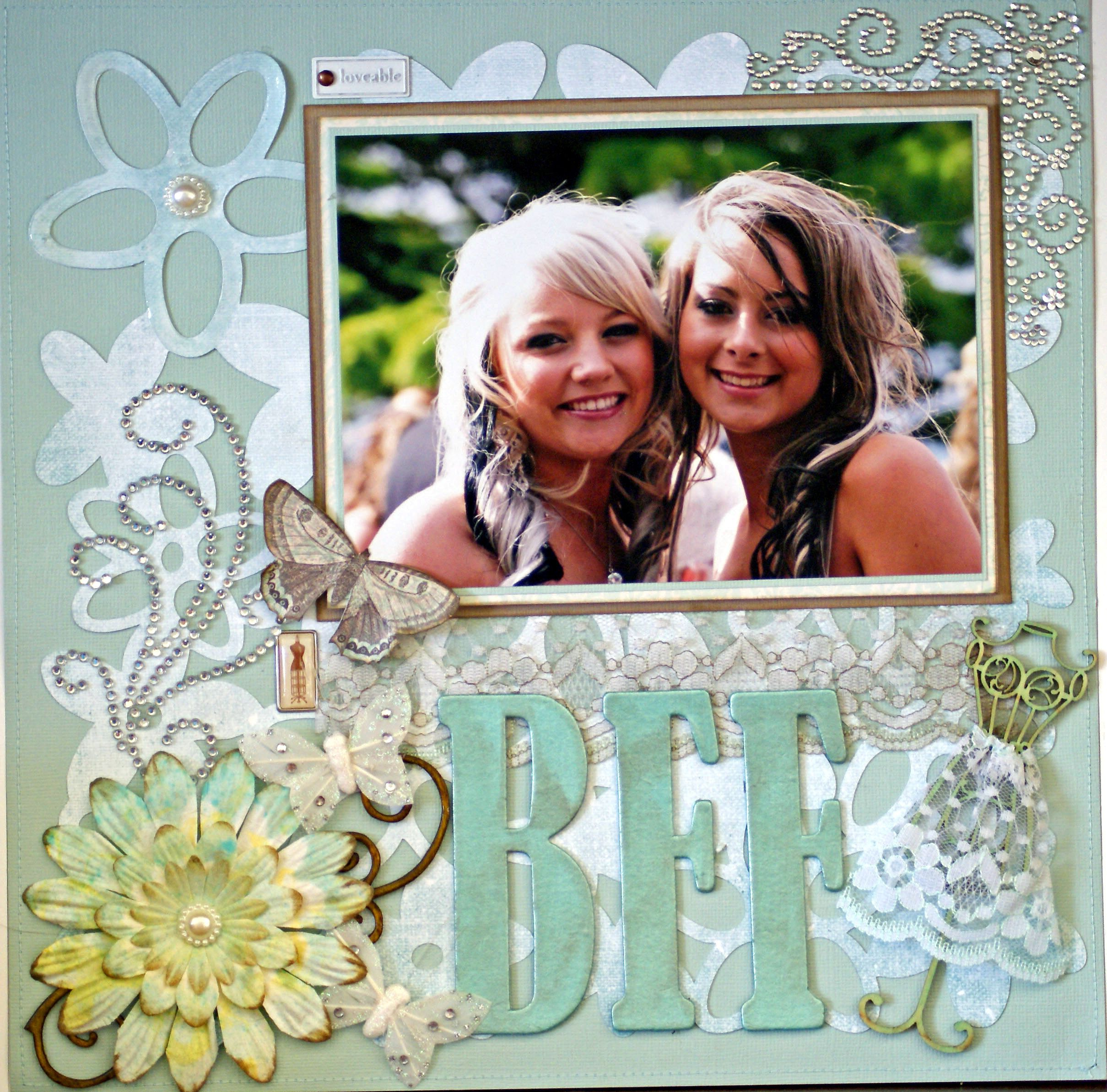Best friend scrapbook ideas - This Is A Fantastic Idea For A Present Collect Photos Of You And Your Best