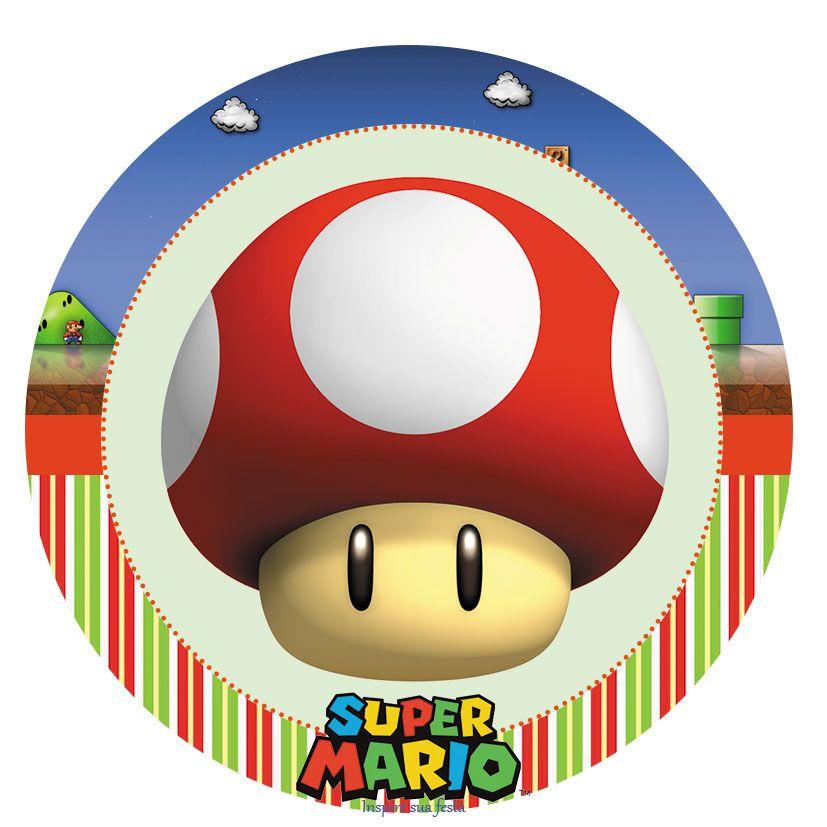 Super Mario Bros Party Free Printable Candy Bar Labels
