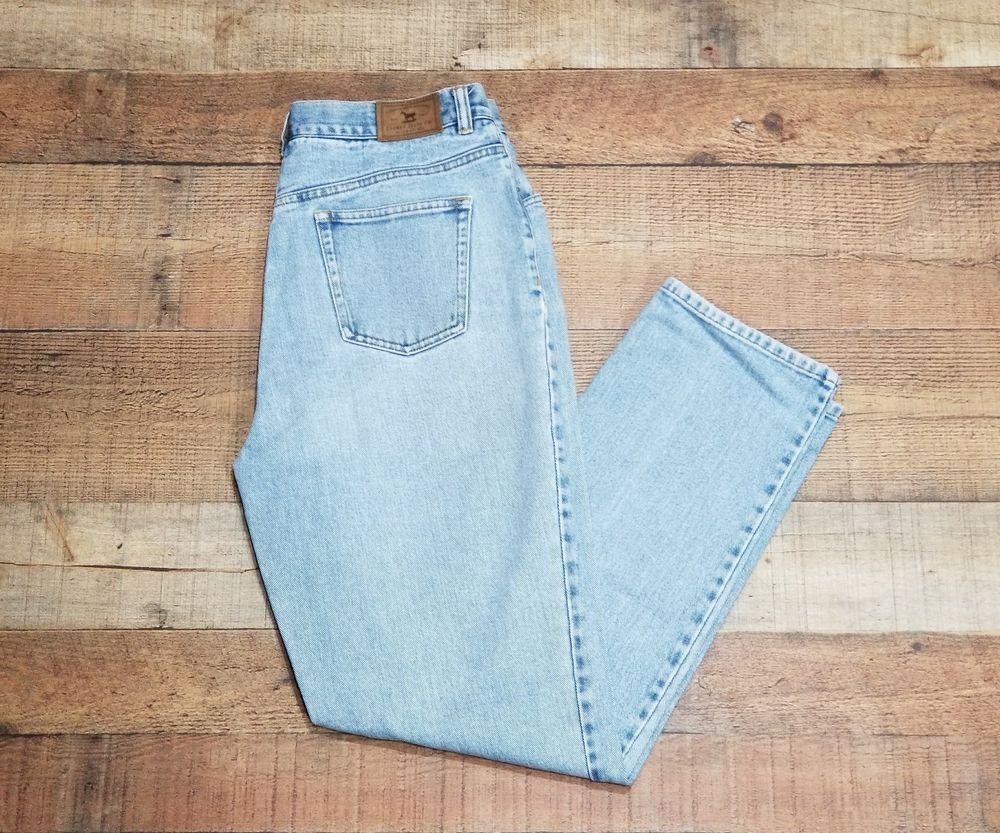 ffa4ac93468 Ralph Lauren Jeans Vintage Mom pants size 12 High Waisted Straight leg Polo   LaurenRalphLauren  StraightLeg