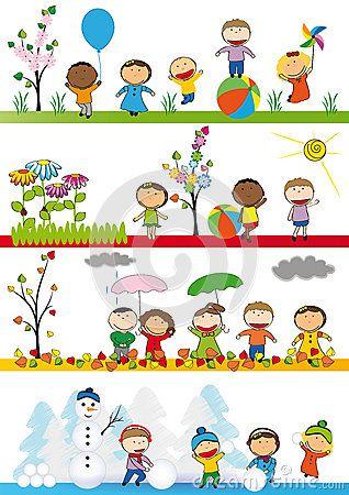 cztery pory roku Four Seasons Le 4 stagioni
