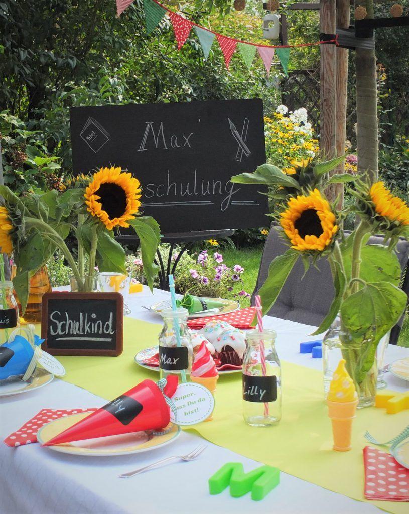 Tisch Einschulung (mit Bildern)  Einschulung feier
