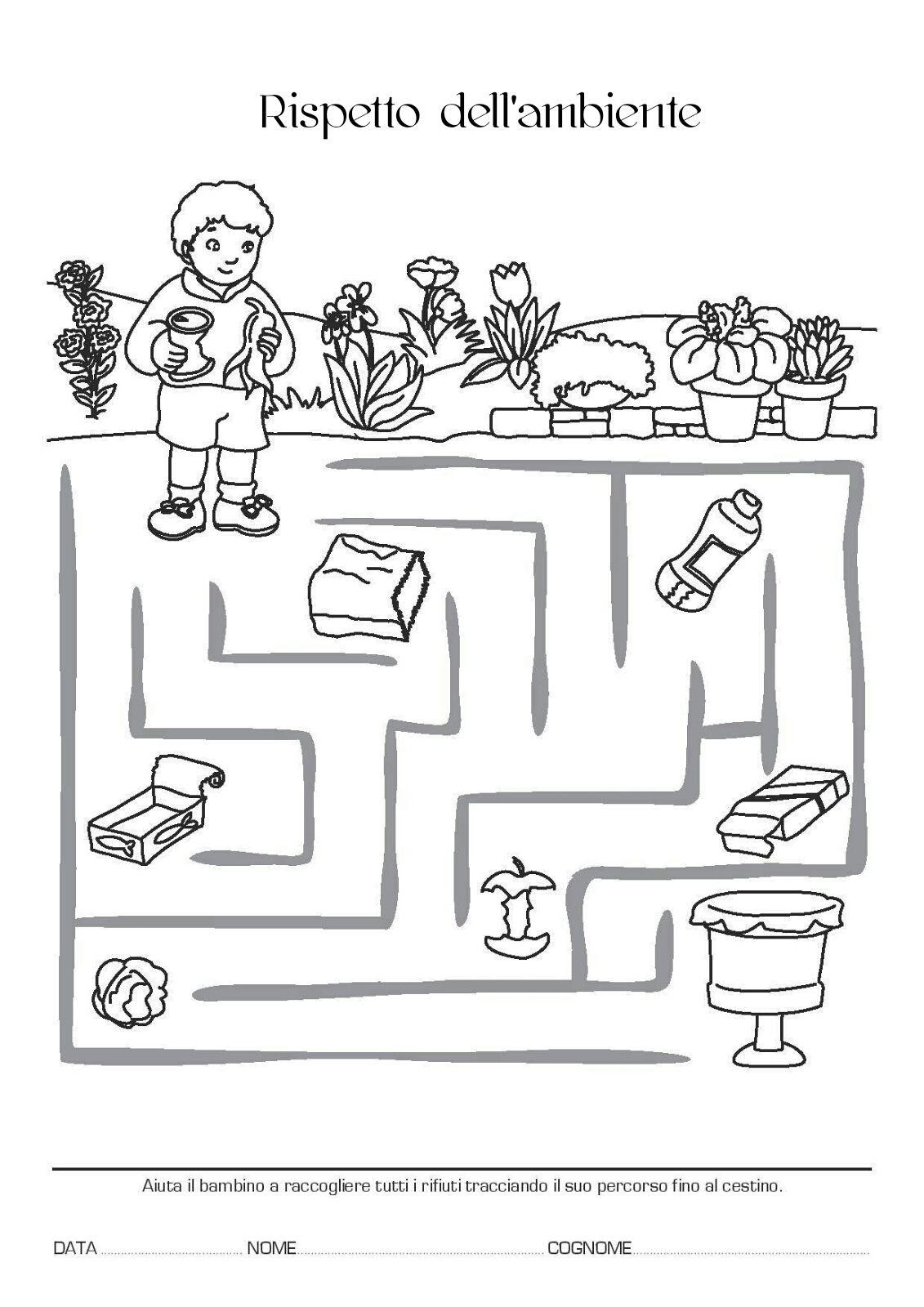 Blog scuola schede didattiche scuola dell 39 infanzia la for Siti maestre scuola infanzia