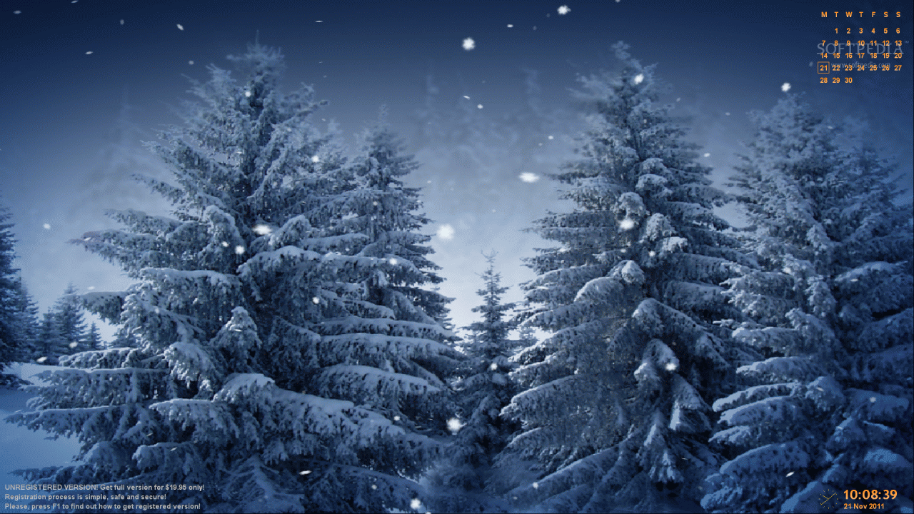 Download Animated Snowflakes Screensaver 2 9 9 Animated