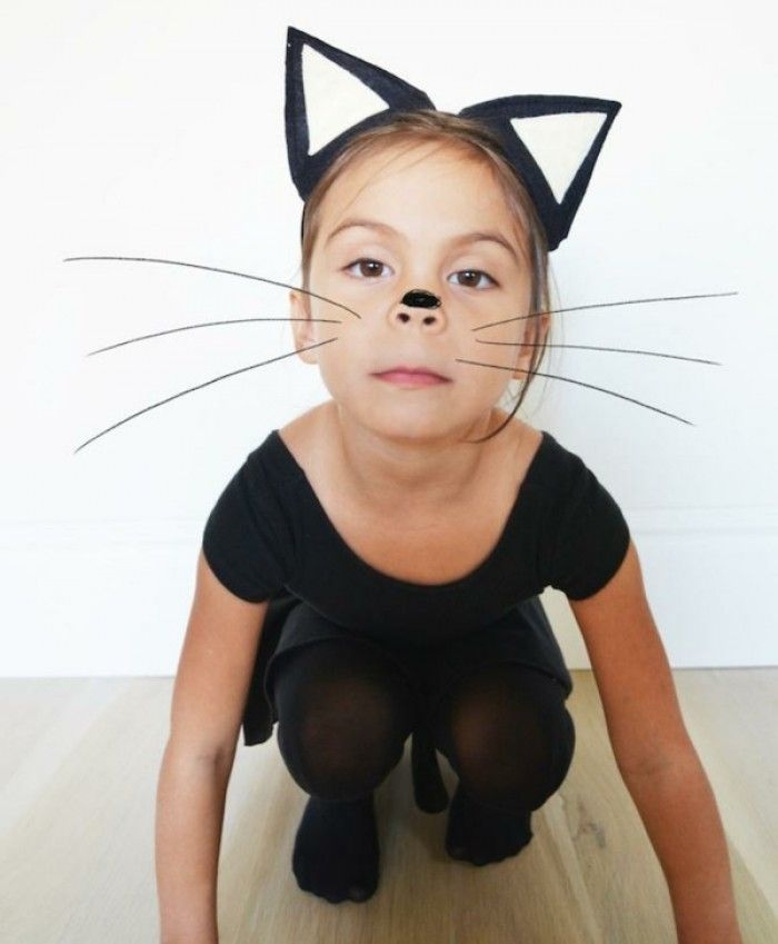 Katzenkostüm Für Kinder Zum Selber Machen Noch Mehr Ideen Gibt Es