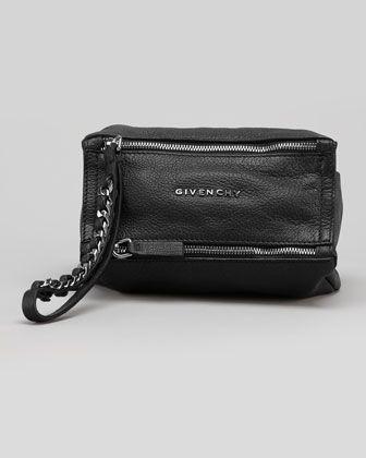 ca15d82952 Pandora Sugar Wristlet Bag, Black by Givenchy at Bergdorf Goodman.