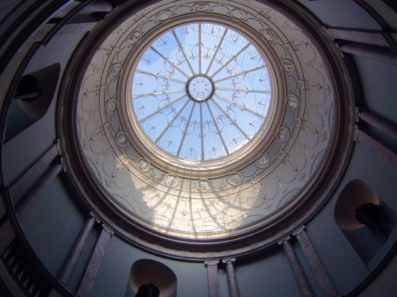 Adam Style Interior Dome Ceiling English House British
