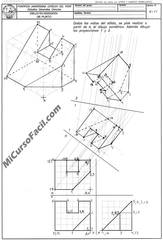 Dibpunto96 Si1 Png Geometria Descriptiva Geometria Formularios