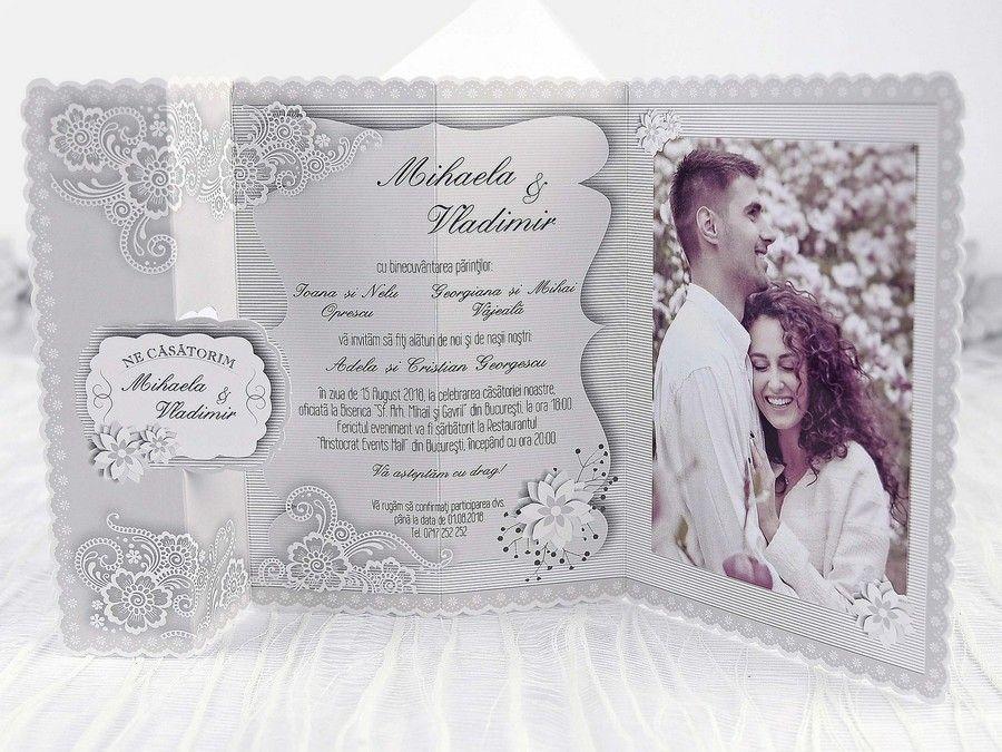 Invitatie Nunta Tabloul Vintage 39240 Invitatie Onlinero