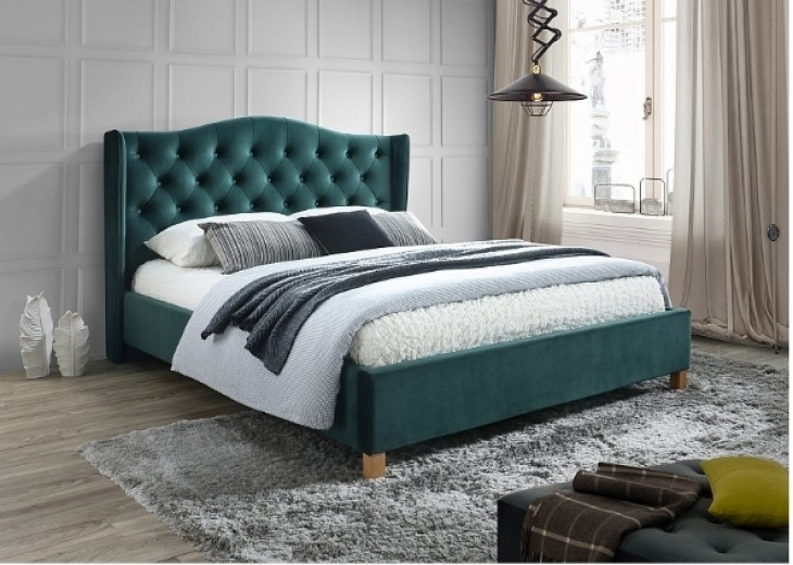 Pat Tapitat Aspen Velvet Green 200 X 160 Cm Somproduct Bedroom Furniture Design Room Design Bedroom Furniture
