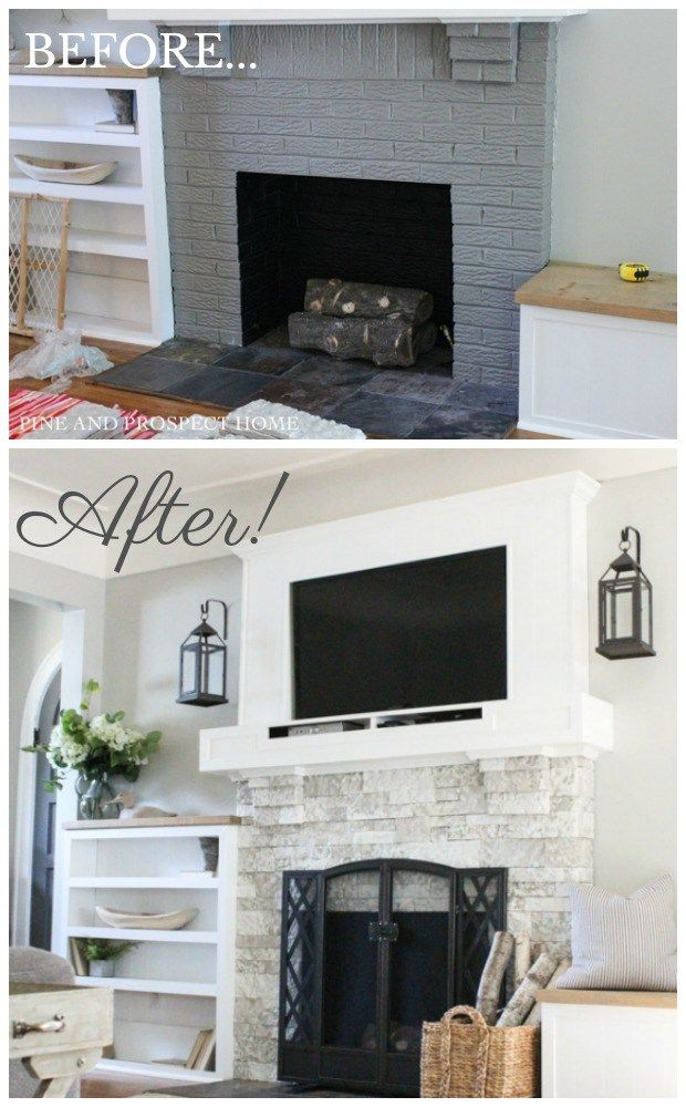 Are You Looking For An Easy Way To Update Or Add Charm Your Fireplace Airstone Is The Perfect Solution Provides Look And Feel Of Real Ston