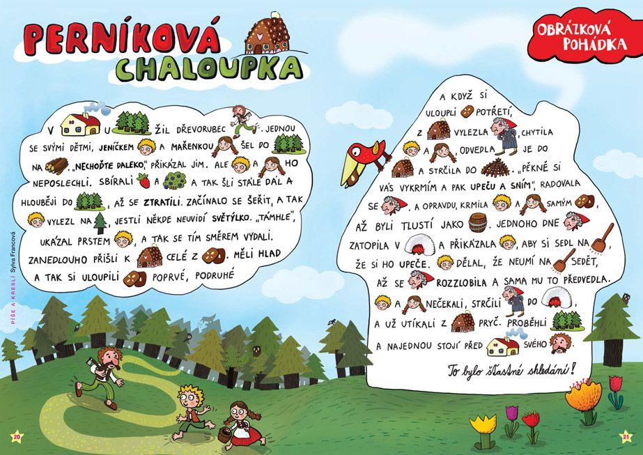 SYLVA FRANCOVÁ: Kreslené pohádky | Fairy tales, School activities,  Preschool activities
