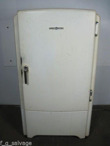 Antique Vintage Ge Refrigerator 1940s Model Lb6 B My Vintage