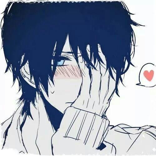 "D:""K, I...I mean...you and...umm...well I just, to you..."" K:""What? What is it?"" D:""...never mind..."" Haru. Tonari no kaibutsu kun"
