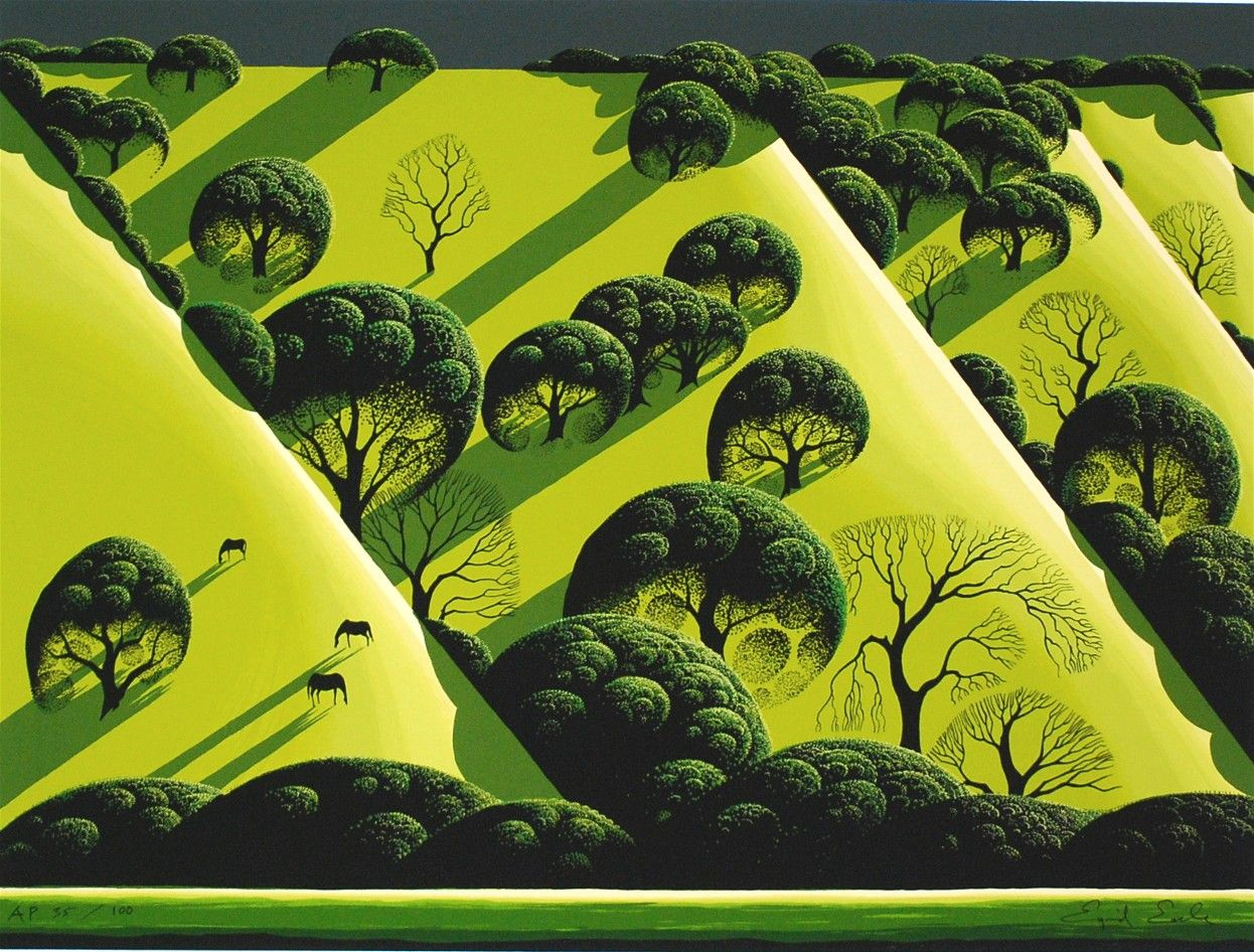 Eyvind Earle An American Artist Author And Illustrator