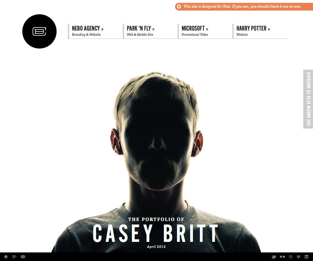 Casey Britt Digital Art Director Designer Developer Creative New York Ny