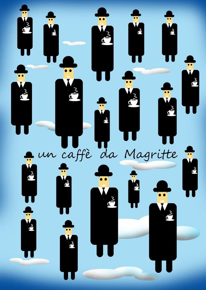 A coffee at Magritte