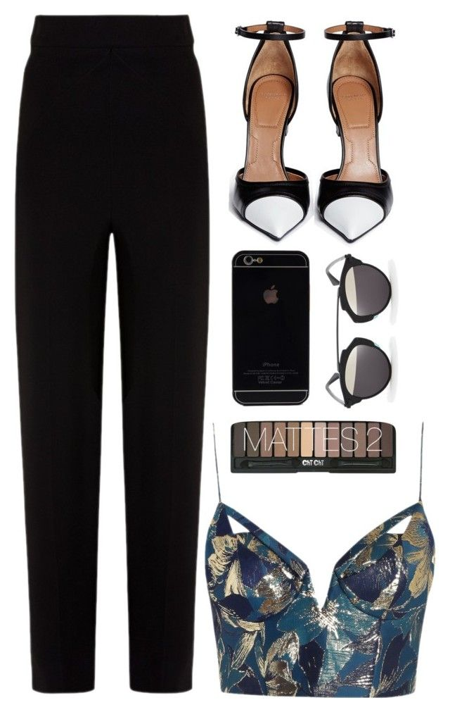 """""""Night out"""" by jodiexkpop ❤ liked on Polyvore featuring Balenciaga, Zimmermann, Givenchy and Christian Dior"""