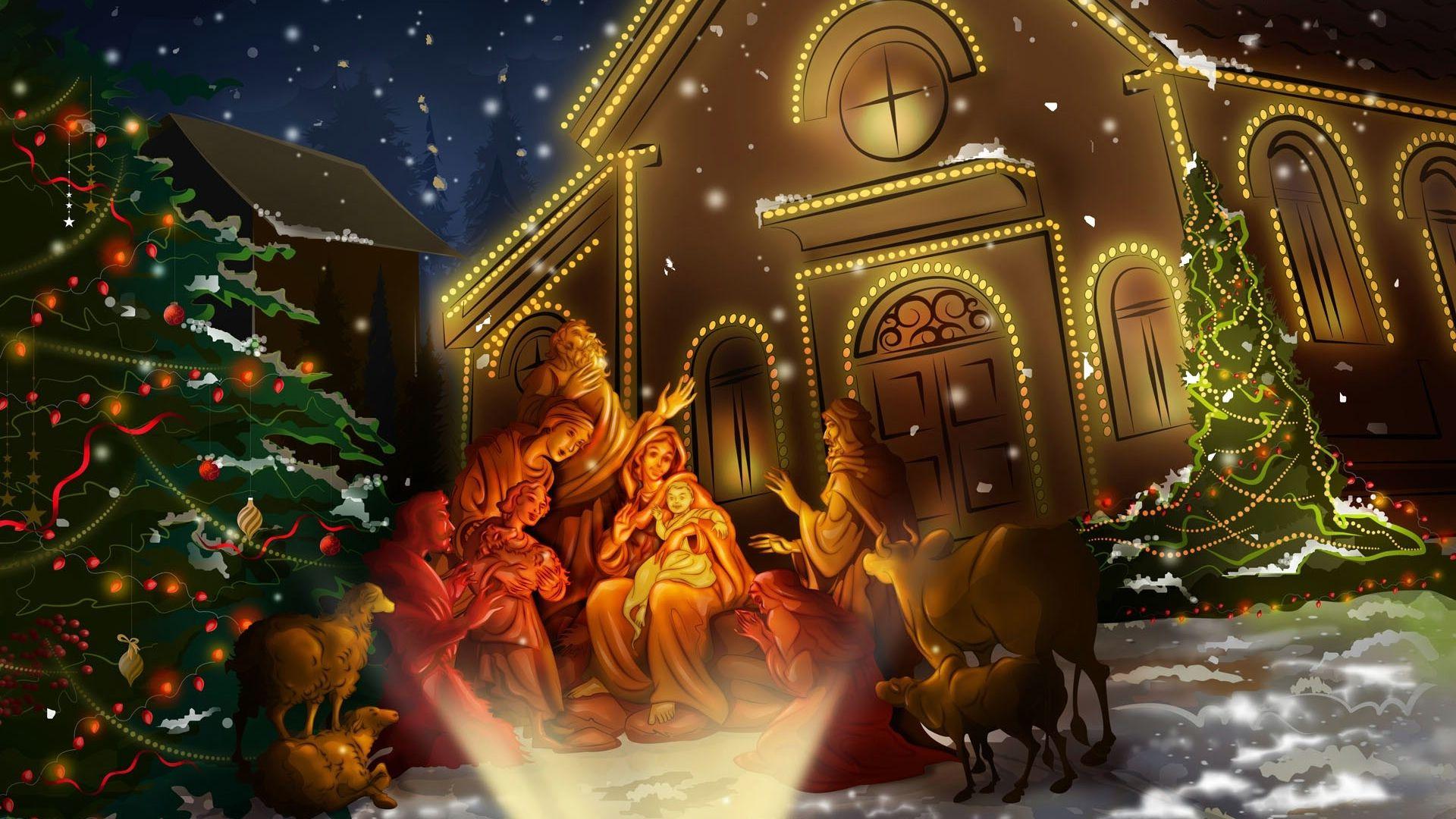 Animated Desktop Wallpaper Collection 44 Papel De Parede Natalino Fotos De Natal Nascimento Do Natal