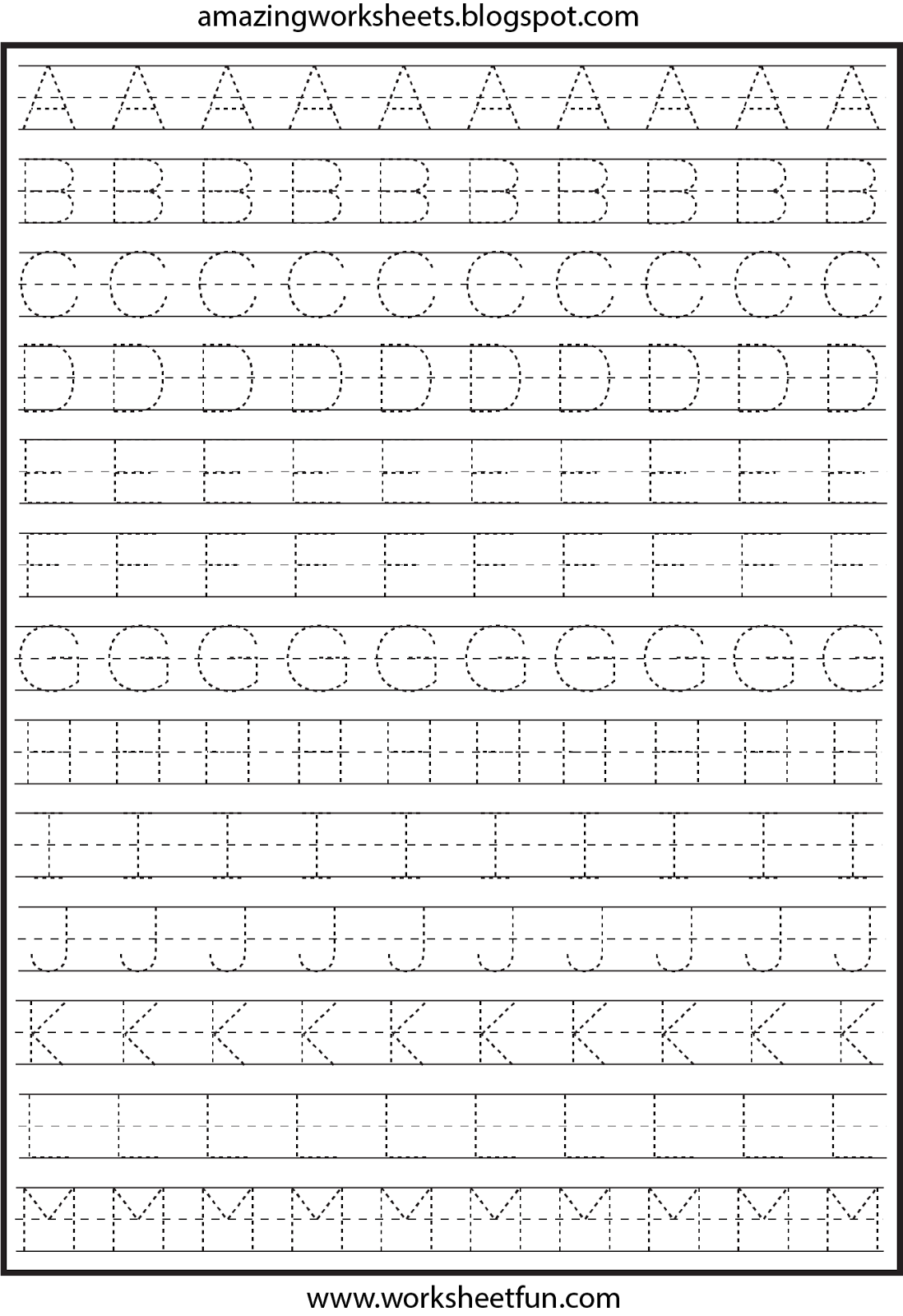 worksheet Abc Worksheets For Pre-k free printable worksheets pre k pinterest letter tracing for kindergarten capital letters alphabet 26 prin