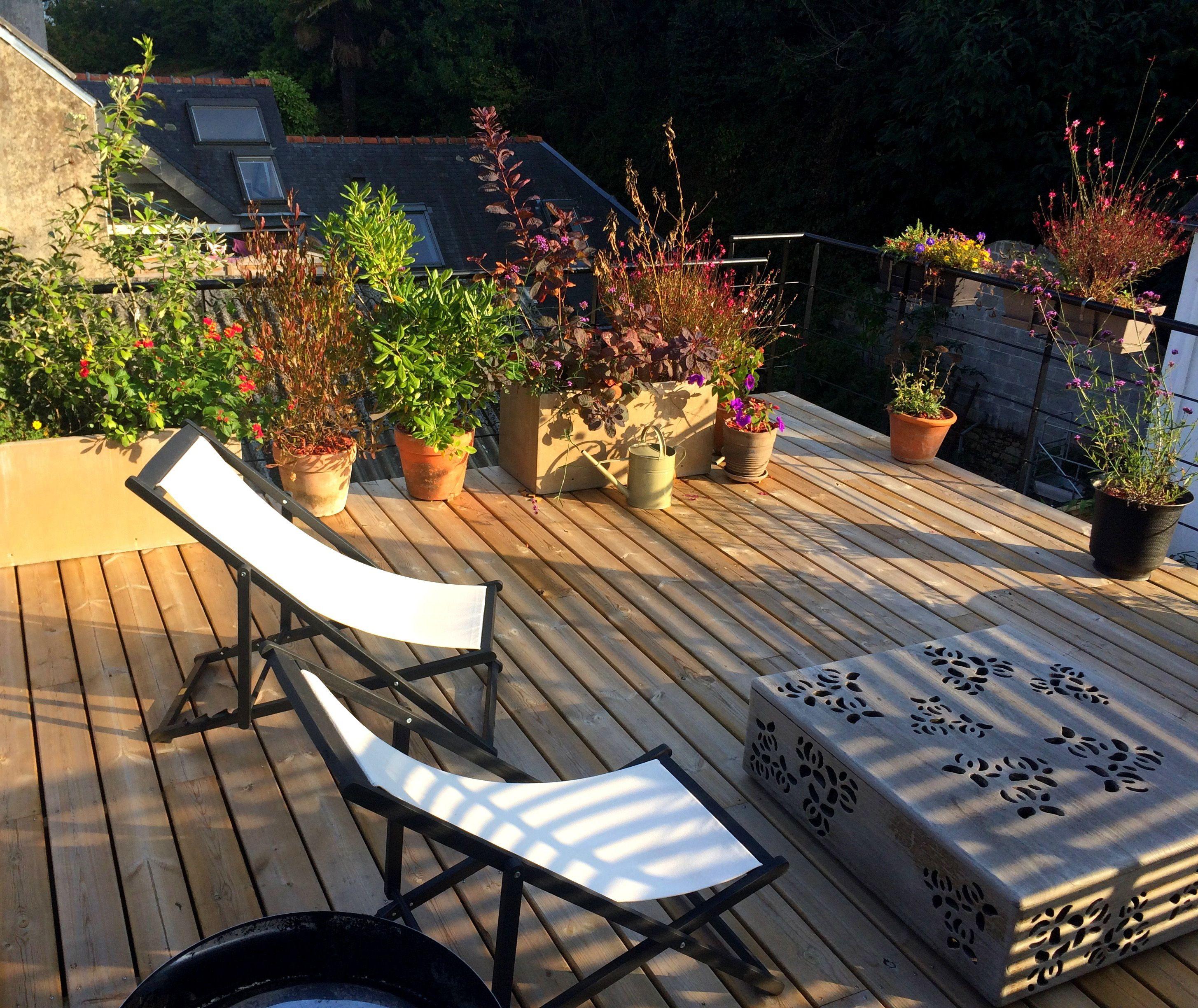 Terrasse suspendue - Claustras métalliques - Garde-corps ...