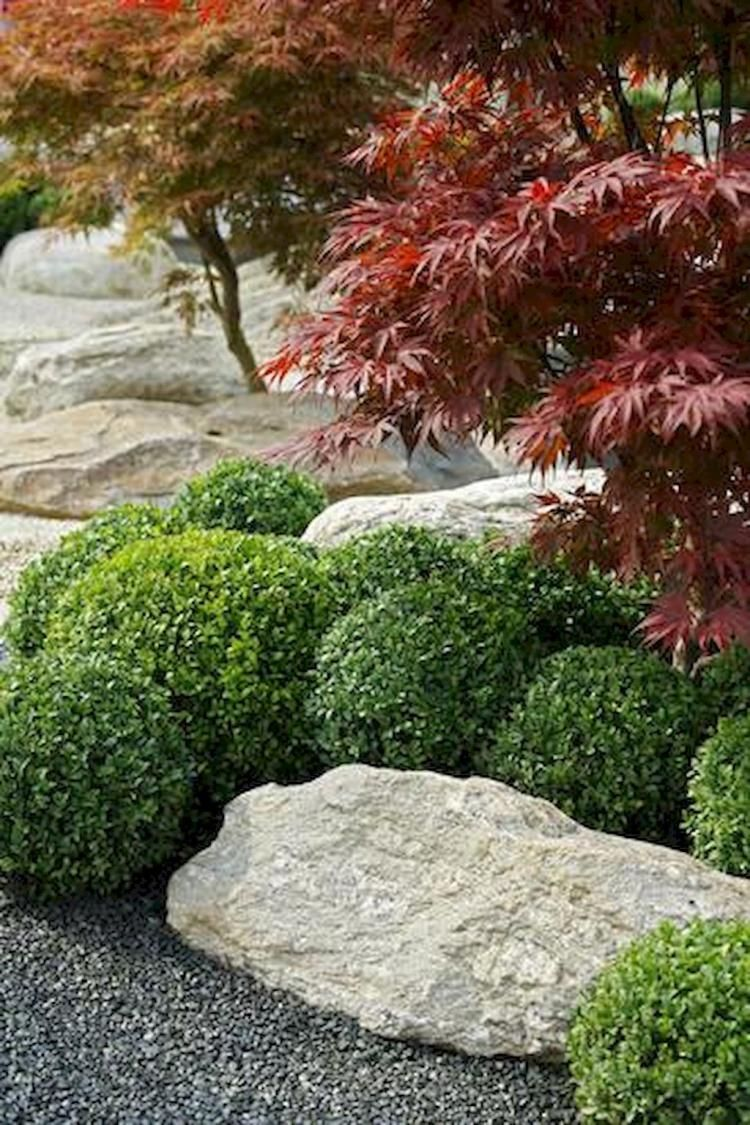70 Fabulous Rock Garden Ideas For Backyard And Front Yard Simple