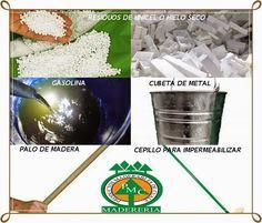 Reciclar El Unicelulares Haciendo Impermeabilizante Facíl Y Rapido Cómo Hacer Hielo Seco Reciclar