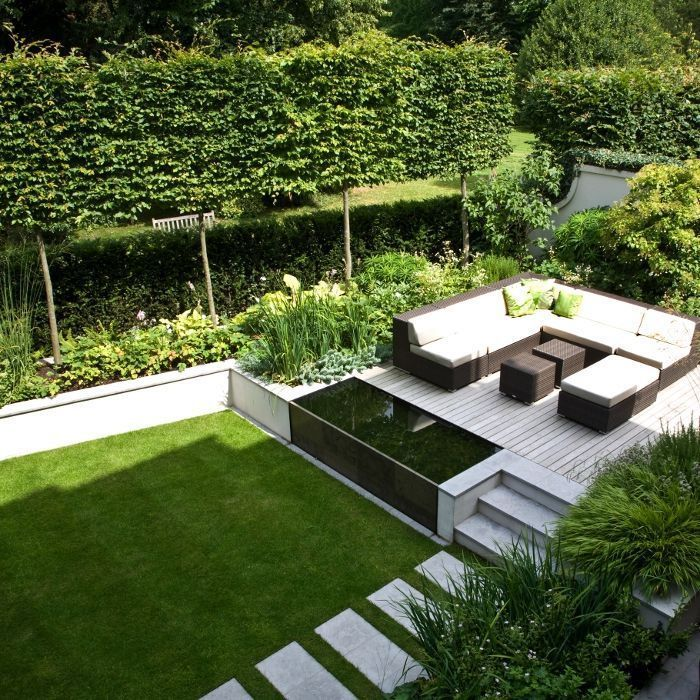 stufen minimalistischer garten | Gartengestaltung – Garten und ...