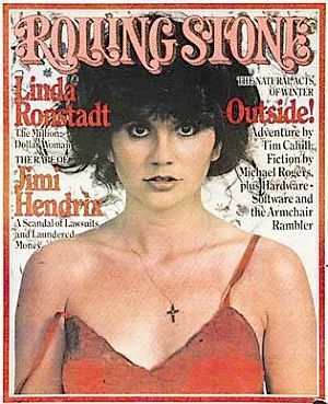 Dec 2 1976 Linda Ronstadt As Photographed By Annie