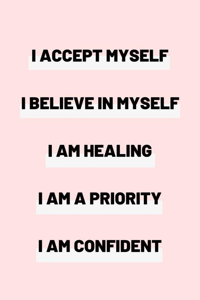 30 Self Love Affirmations!