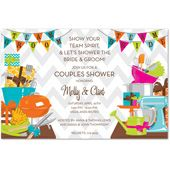 Couples Shower Invitations, Team Shower, 27725