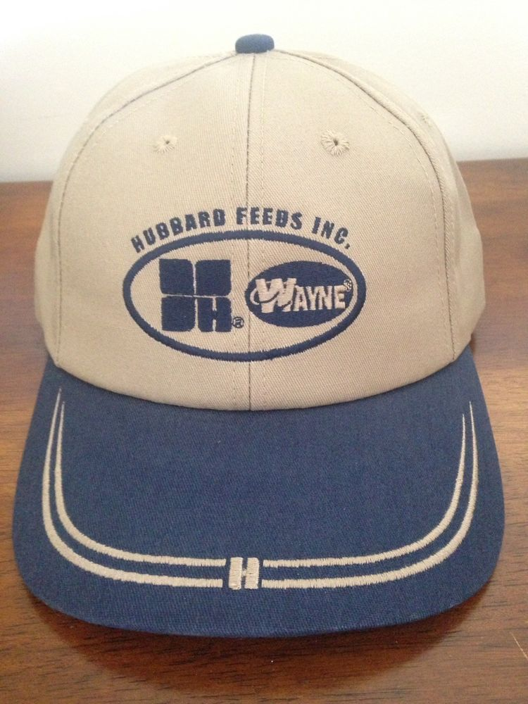 31526664942 Vintage Wayne Feeds Cloth Rare Snapback Hat Trucker Embroidered Hat K-products   Kproducts  TruckerHat