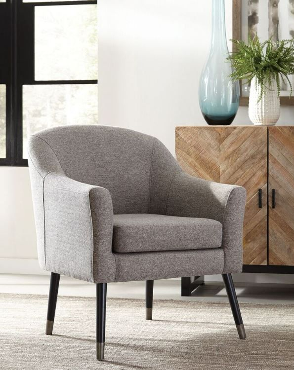 Scott Living Mid Century Modern Grey Accent Chair Coaster 903378