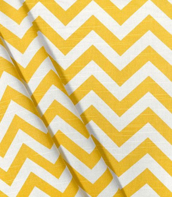 Yellow Valance Chevron Curtain Valance von exclusiveelements