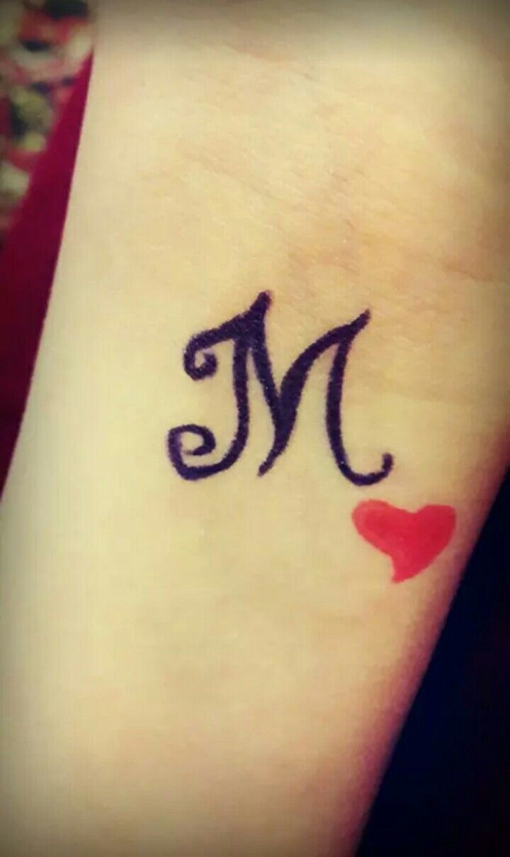Pin By Dreaming Boy On Letters Tiny Tattoos For Girls Tiny Tattoos Stylish Alphabets M tattoo hd wallpaper