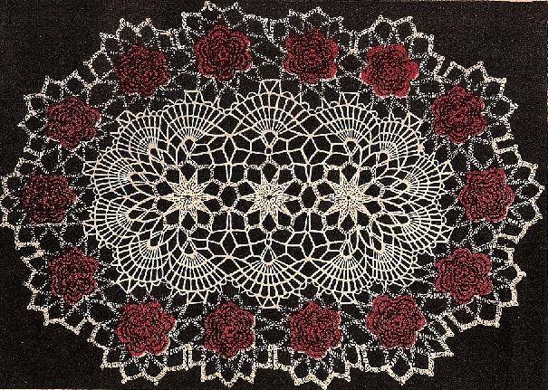 Irish Rose Afghan Crochet Pattern 4b24741984943140536bg