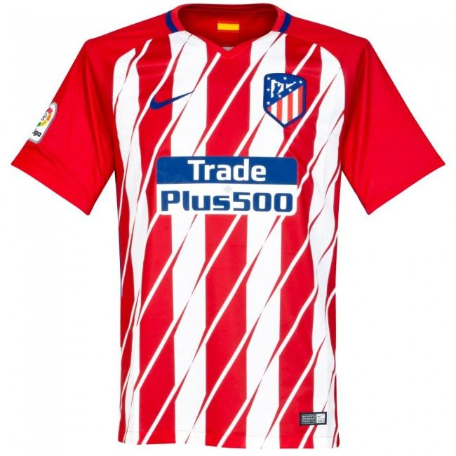 a5b1aebe3de Nike Atletico Madrid Home Jersey 17 18 (Red White)
