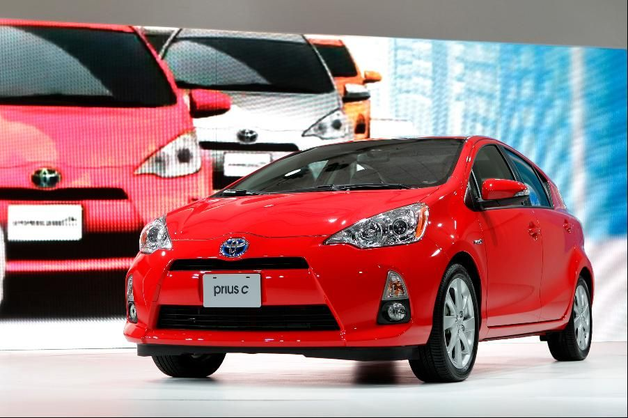 4. Toyota Prius c Toyota prius, Prius, Toyota brands
