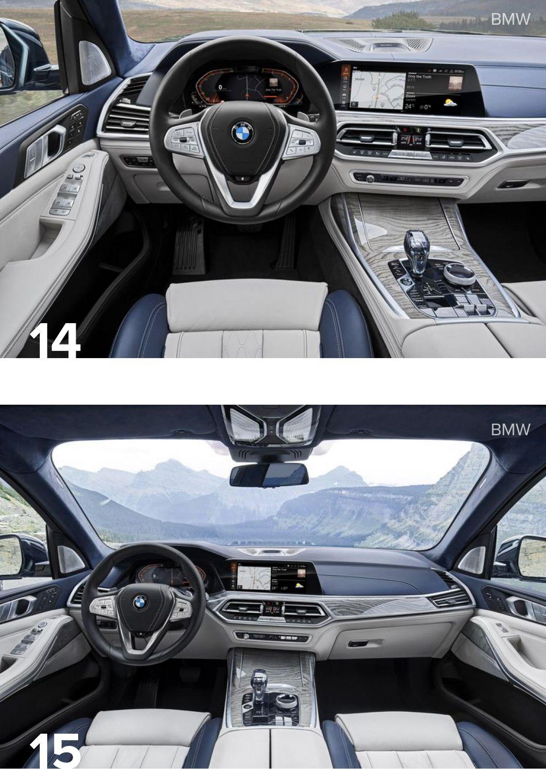 2019 Bmw X7 Xdrive40i Xdrive50i Riding In Opulence Bmw