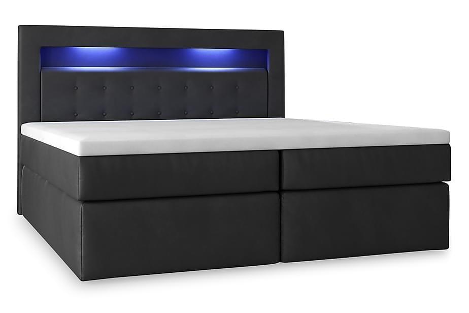 Modena Sängpaket 140x200 medFörvaring Pikerad Gavel | Sva