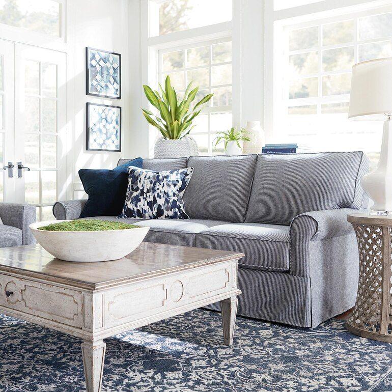 Suffolk Sofa Cheap Living Room Sets Bassett Furniture Living Room Sofa #slipcovered #living #room #sets
