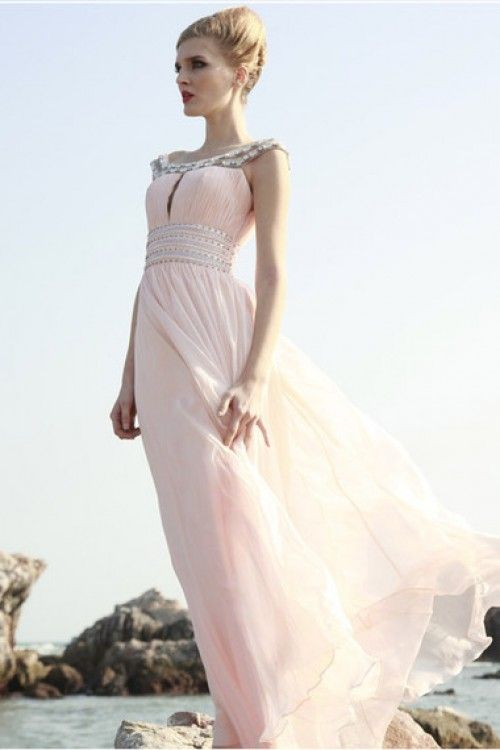 2012 Collection Scoop Sheath/Column Floor Length Prom Dresses Under ...