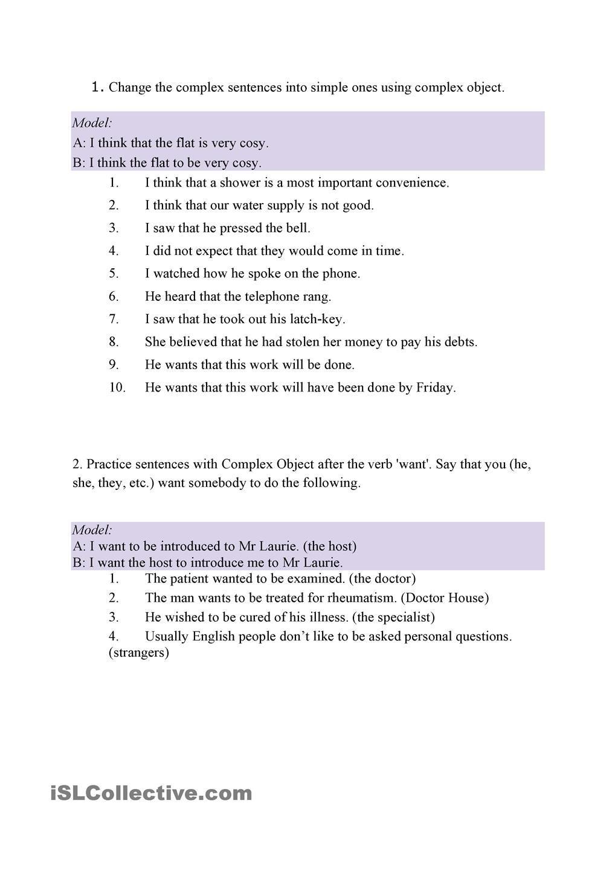 complex object   Word problem worksheets [ 1440 x 1018 Pixel ]