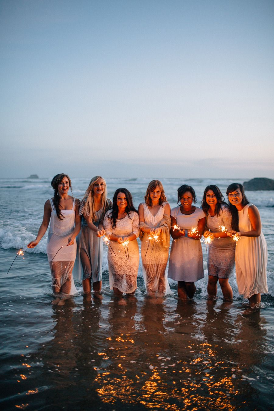 Seaside Chic Bridal Party Tea Party