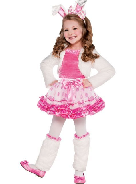 Girls Honey Bunny Costume Party City Random Goodies Pinterest