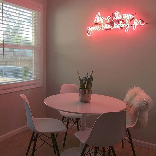 This Is The Sign You Ve Been Looking For Neon By Neonmfg Com Neon Signs Retro Decor Neon Lighting #neon #sign #living #room